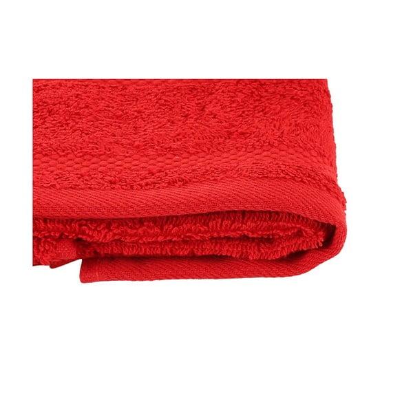 Vánoční set červeného ručníku a osušky Red&White
