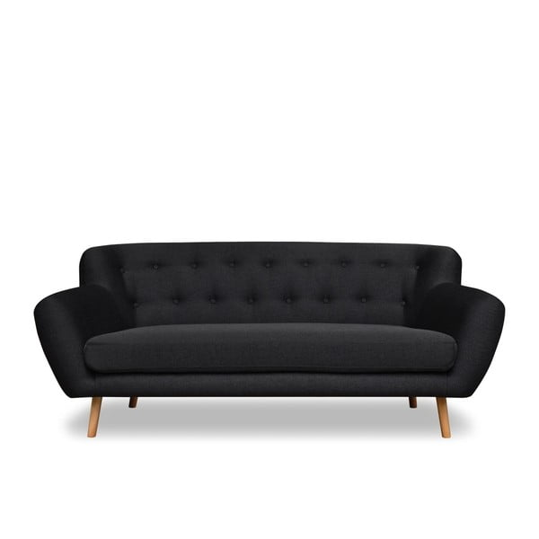 Ciemnoszara sofa 3-osobowa Cosmopolitan design London