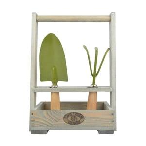 Přepravka na nářadí z borovicového dřeva Esschert Design Garden
