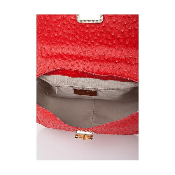 Kožená kabelka Giorgio Costa 15017 Red