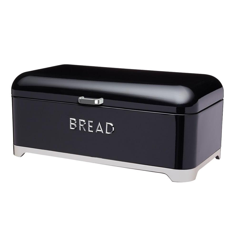 Černá dóza na chléb Kitchen Craft Lovello