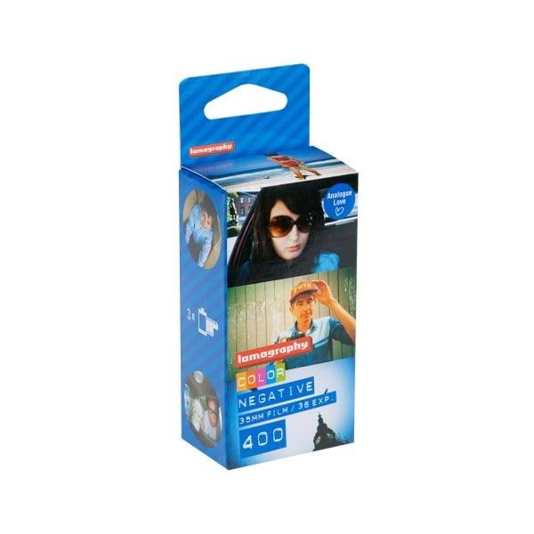 Film Lomography Color Negative 400 ISO 35mm, 3 ks