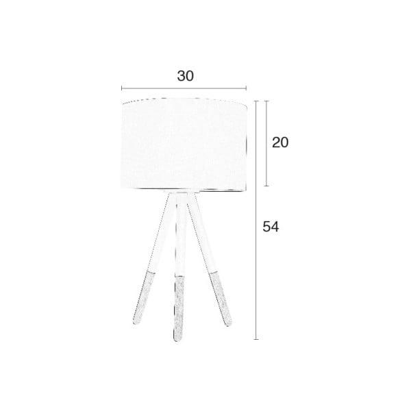 Bílá stolní lampa Zuiver Highland