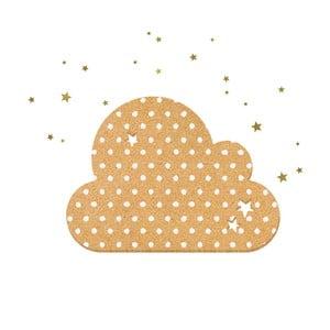 Dekorativní samolepící nástěnka Dekornik Dots With Stars