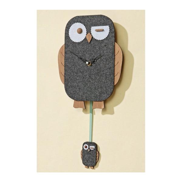 Nástěnné hodiny Owl