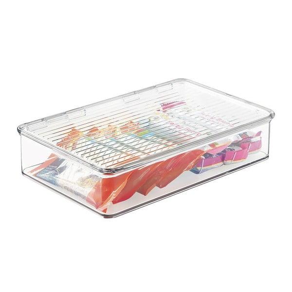 Pojemnik do lodówki InterDesign Clarity, 27,5x18,5cm