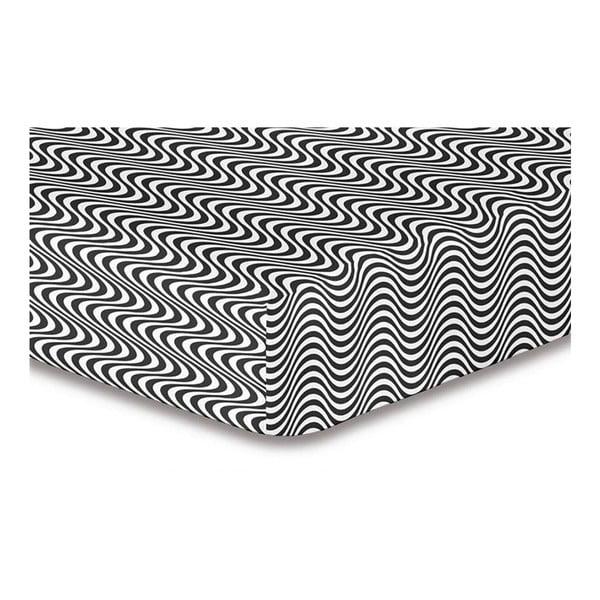 Cearșaf din microfibră cu elastic DecoKing Hypnosis Deerest Mia, 220x240cm