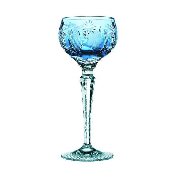 Pahar din cristal pentru vin Nachtmann Traube Wine Hock Aquamarine, 230 ml, turcoaz