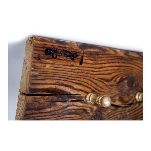 Dřevěný věšák Vintage