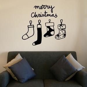 Samolepka Christmas Stocking 57,5x41 cm