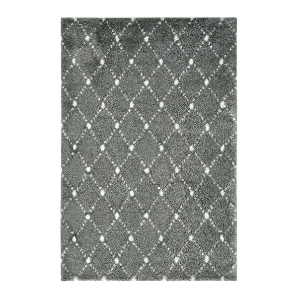Šedý koberec Obsession My Manhatten Silv, 80 x 150 cm