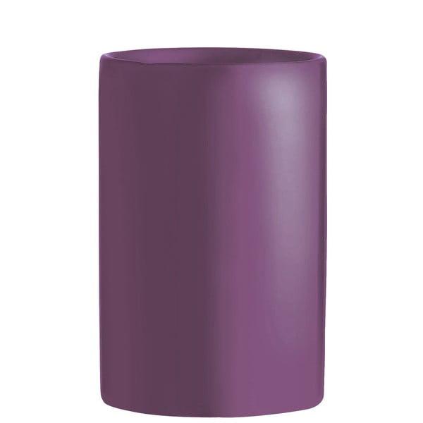 Hrnek na zubní kartáčky Galzone, fialový
