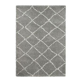 Covor Think Rugs Royal Nomadic Grey & Cream, 160 x 230 cm de la Think Rugs