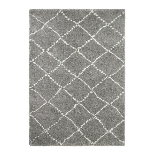 Szaro-kremowy dywan Think Rugs Royal Nomadic Grey & Cream, 160x230 cm