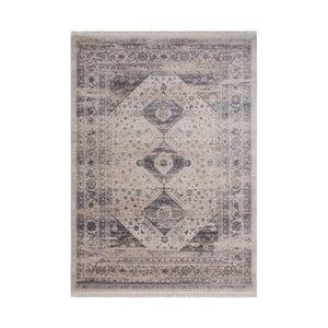 Šedý vzorovaný koberec Kayoom Freely, 120 x 170 cm
