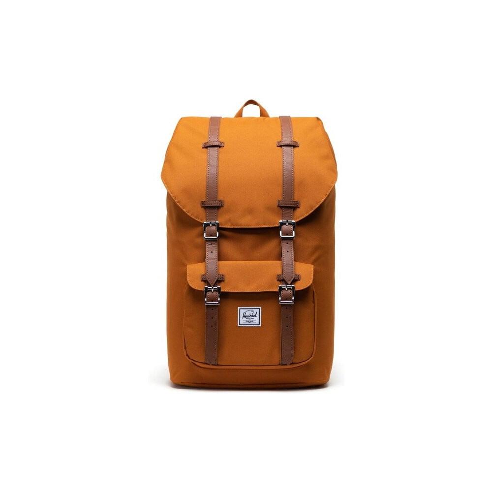 Oranžový batoh Herschel Little America