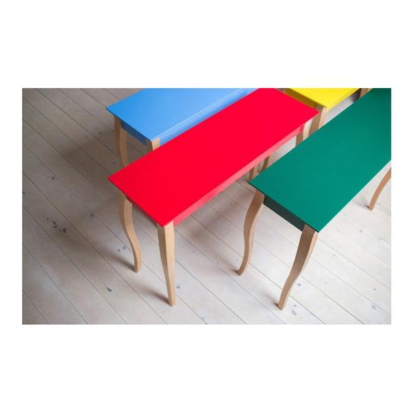 Červený konzolový stolek Ragaba Lillo, šířka85cm