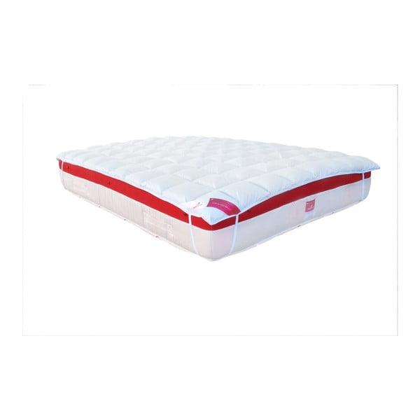 Podložka na matraci s prachovým peřími, 90x200 cmi