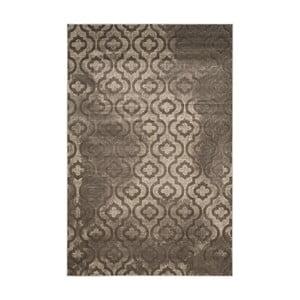 Šedý koberec Webtappeti Evergreen,92x152cm