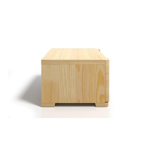 Noptieră din lemn de pin cu sertar SKANDICA Sparta