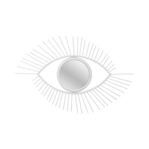 Zrcadlo ve tvaru oka s rámem z vrbového dřeva InArt Boho