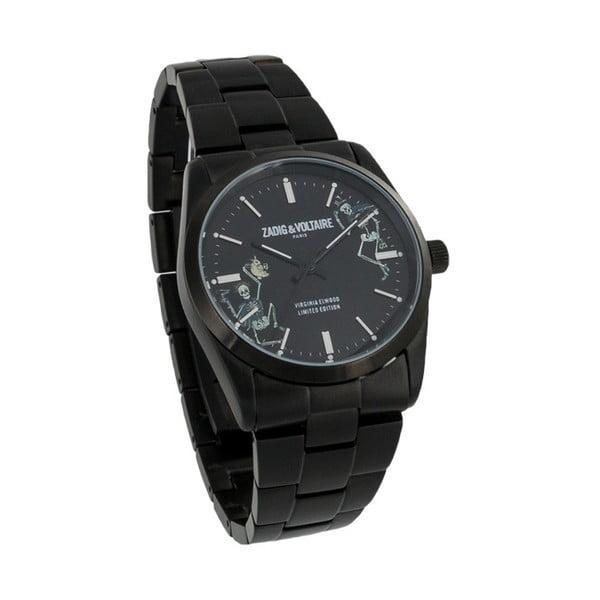 Dámské hodinky černé barvy Zadig & Voltaire Planet