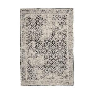 Šedý žinylkový koberec InArt Puente, 180x120cm