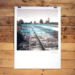 Plakát Jack Kerouac, 30x41 cm