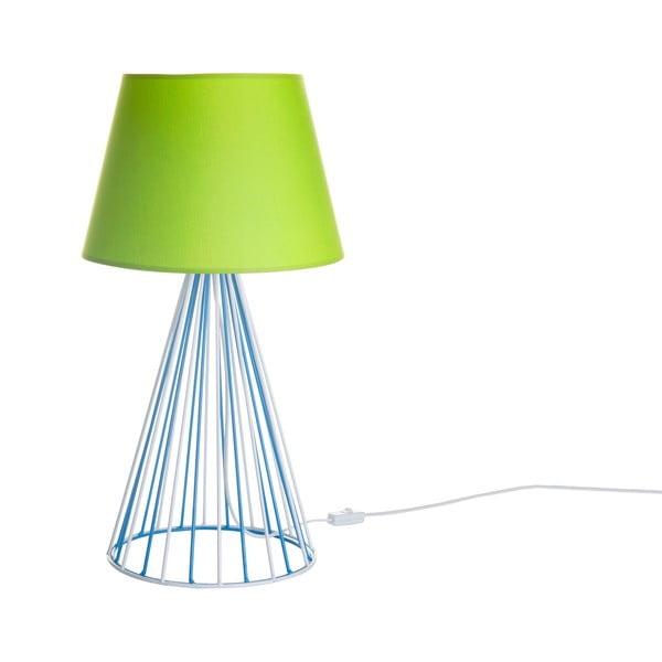 Stolní lampa Wiry Lime/Blue