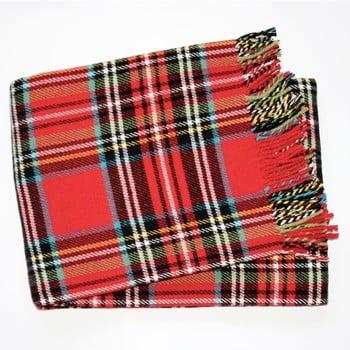 Pled Euromant Scott, 140x180cm, roșu de la Euromant
