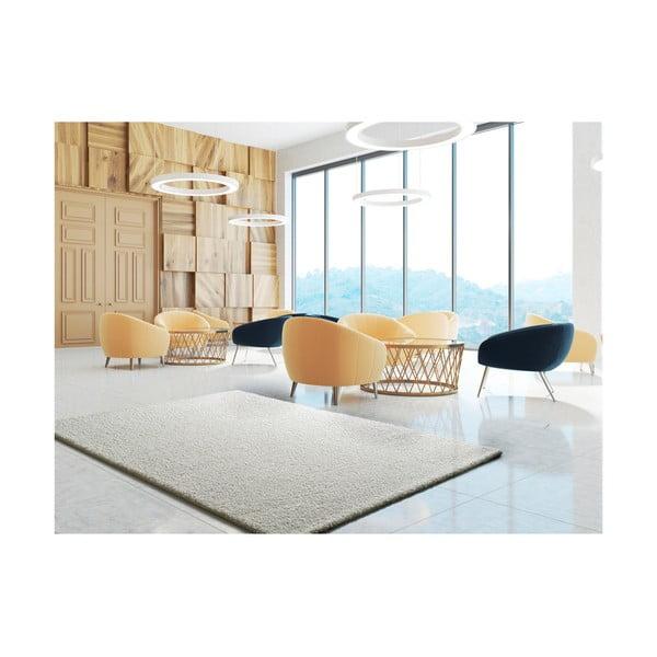 Bílý koberec Universal Princess, 150 x 80 cm