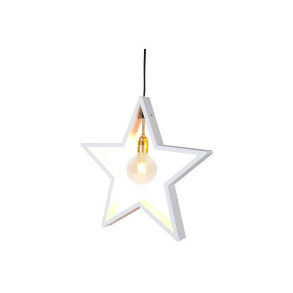Závěsná svítící hvězda Best Season Hanging White