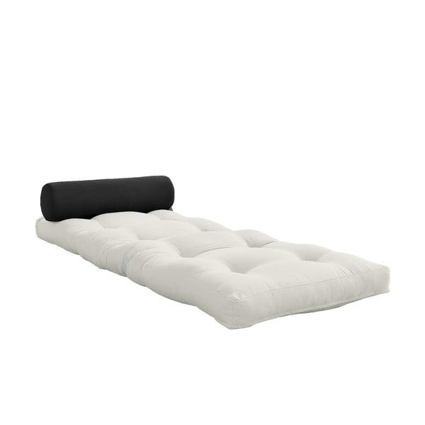 Wrap Natural/Dark Grey variálható világos szürke matrac - Karup Design