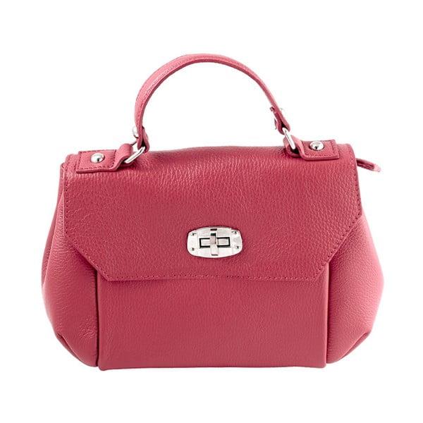 Kožená kabelka Andrea Cardone 2021 Red