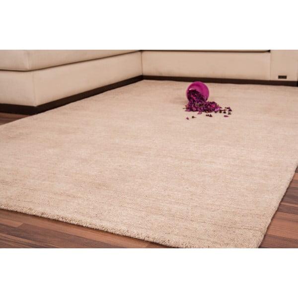 Vlněný koberec Millennium 120x170 cm, béžový