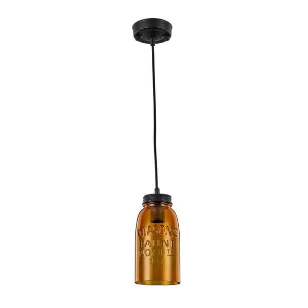 Jantarově žluté závěsné svítidlo Light Prestige Vasto