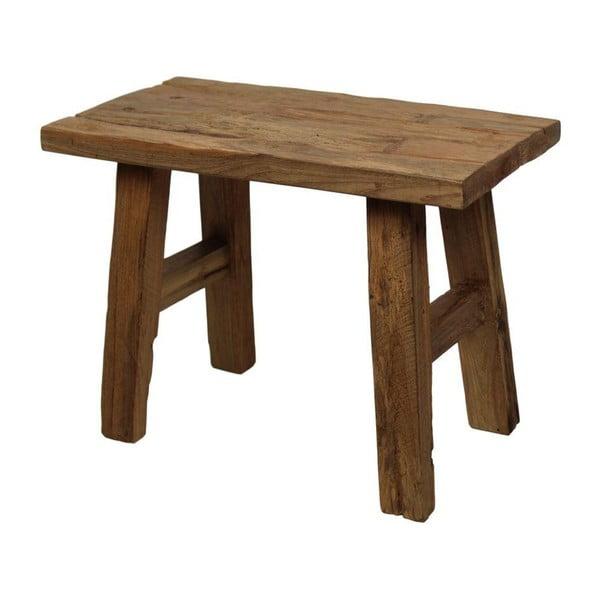 Stolička ze dřeva z teakového dřeva HSM collection Hunny
