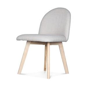 Krémová židle Opjet Ivar