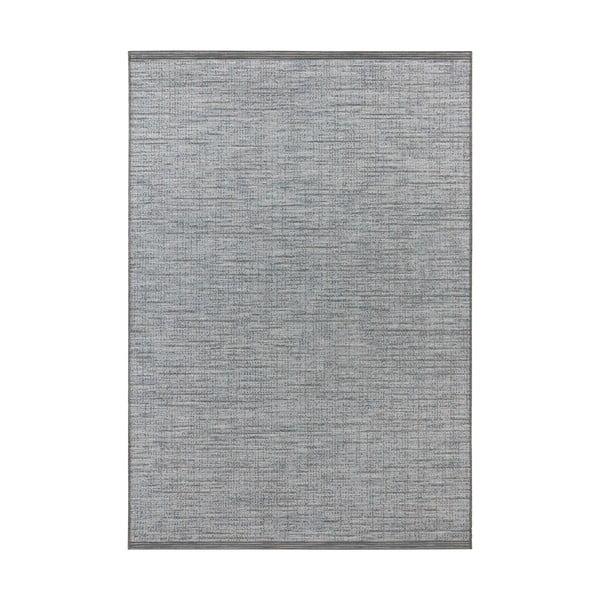 Modrý koberec vhodný do exteriéru Elle Decor Curious Lens, 77 x 150 cm