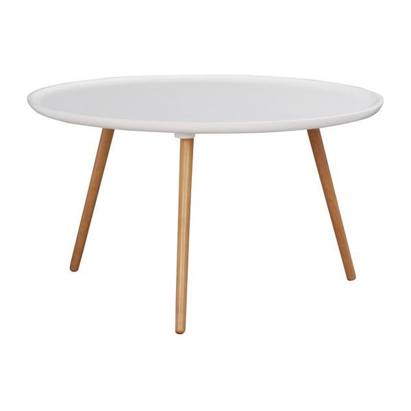 Bílý konferenční stolek Folke Dellingr, ⌀ 80cm