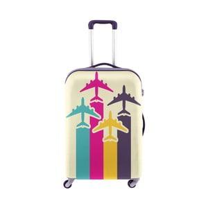 Obal na kufr s motivem letadel Oyo Concept, 76 x 49 cm
