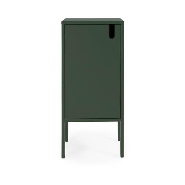 Dulap Tenzo Uno, lățime 40 cm, verde închis