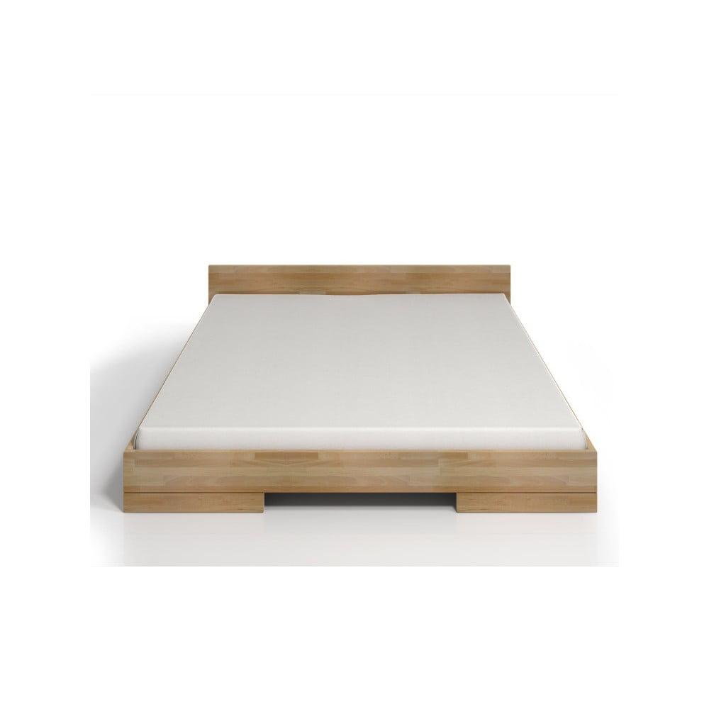 Fotografie Dvoulůžková postel z bukového dřeva SKANDICA Spectrum, 140x200cm