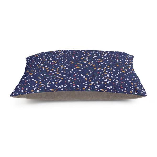 Poduszka do siedzenia Really Nice Things XXL Blue Terrazzo, 120x80 cm