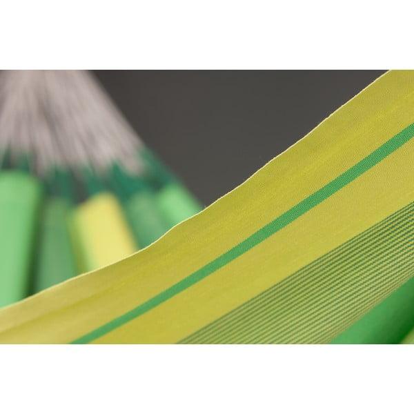Houpací síť Orquidea pro jednoho, zelená
