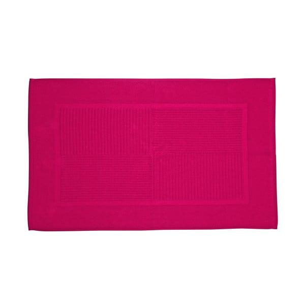 Koupelnová předložka, 80x50 cm, malinová