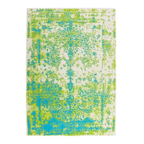 Koberec Ethno Green Blue, 160x230 cm