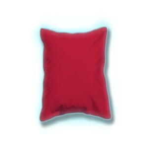 Sada 2 červených svítících venkovních polštářků Sunvibes, 45x45cm