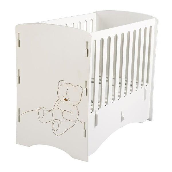 Dětská postýlka Teddy, 80x130x105 cm