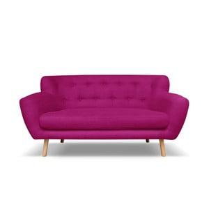 Tmavě růžová pohovka pro tři Cosmopolitan design London